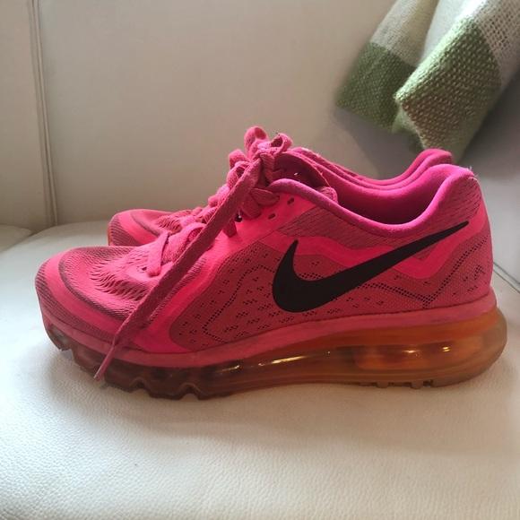 NEON PINK Nike Air Max Sneakers